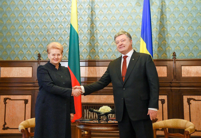 Grybauskaitė: Ukrainą stabdo korupcija