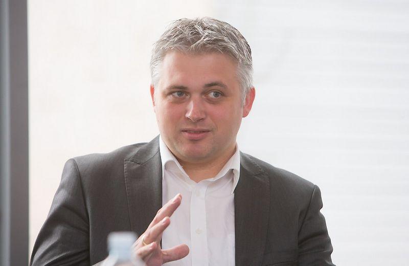 "Thomas Notten, Thomas Notten, VšĮ ""Versli Lietuva"" vyr. analitikas. Juditos Grigelytės (VŽ) nuotr."