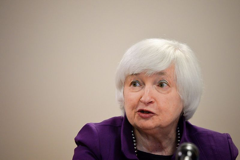 "Janet Yellen, FED vadovė. Charleso Mostollerio (""Reuters"" / ""Scanpix"") nuotr."
