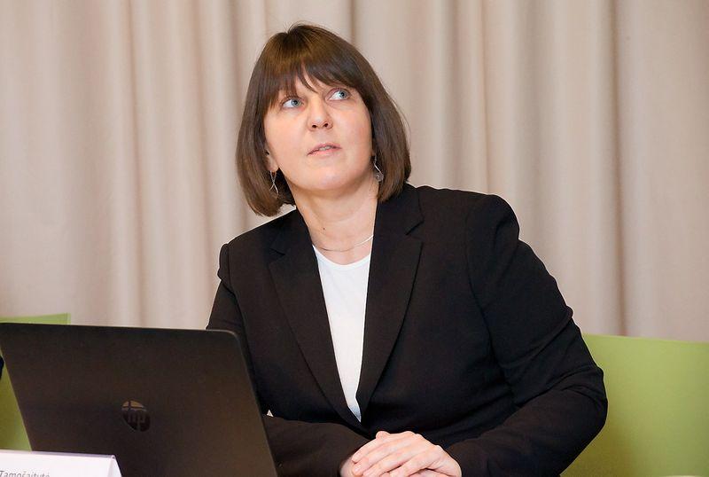 """Jūratė Tamošaitytė, Lietuvos centrinės kredito unijos (LCKU) projekto """"Verslumo skatinimas"""" vadovė. Juditos Grigelytės (VŽ) nuotr."""