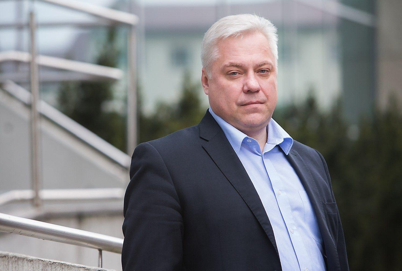 """Algimantas Variakojis, KŪB """"Verslo angelų fondas I"""" partneris. Juditos Grigelytės (VŽ) nuotr."""