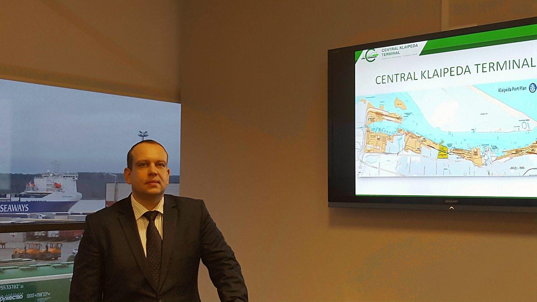 Centriniame Klaipėdos terminale – vadovybės pokyčiai