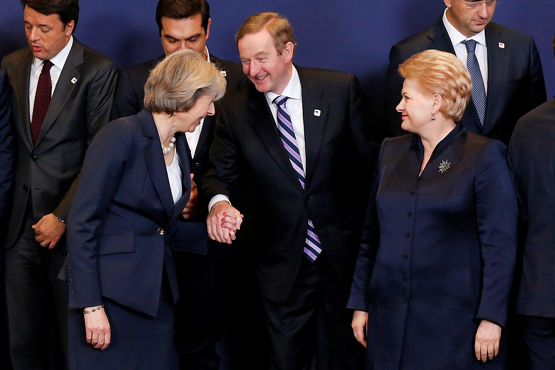 Grybauskaitė susitinka su Theresa May