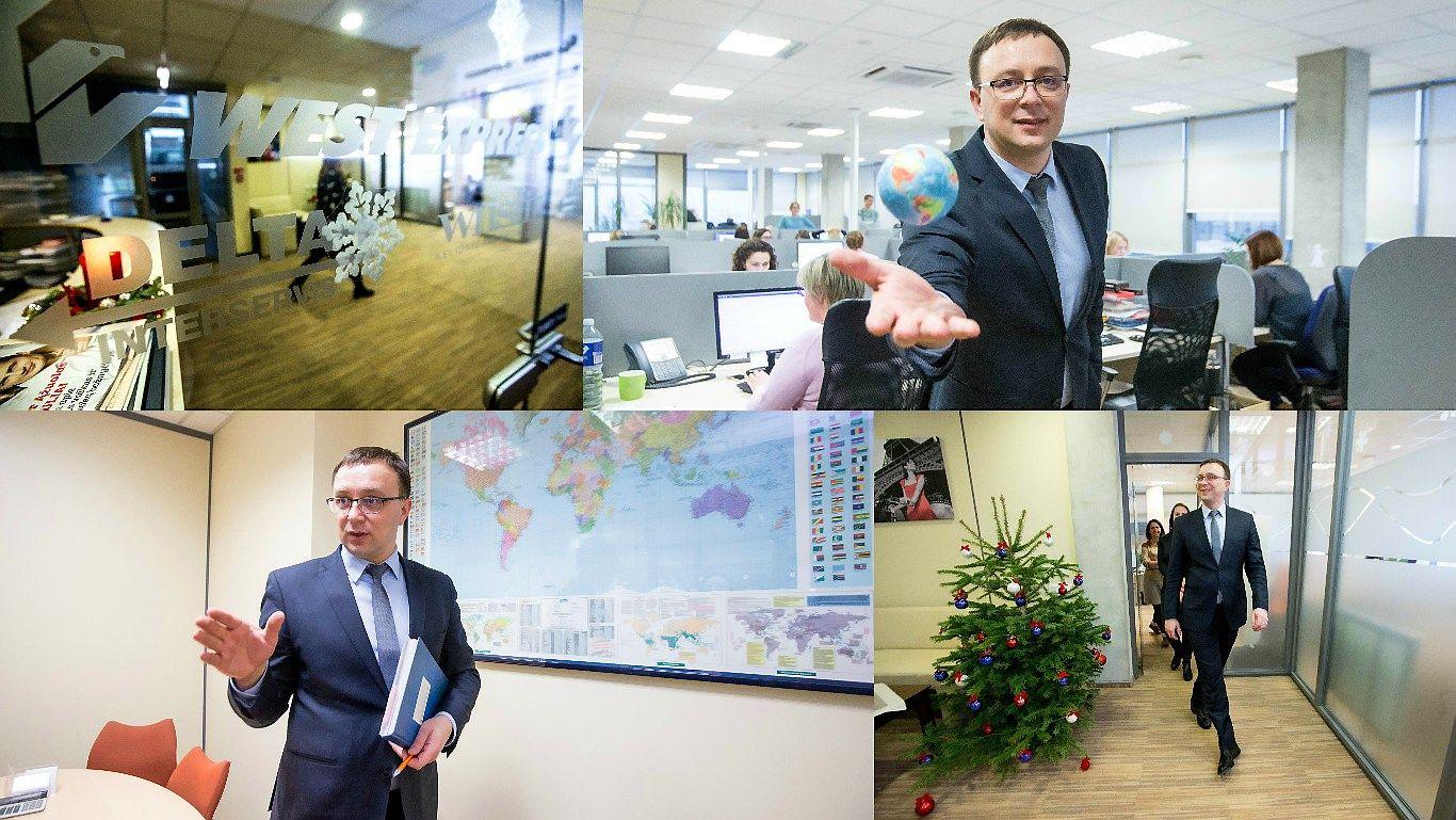 """Diena su """"West Express"""" vadovu: po pasaulį keliauja žmonės iš dviejų internetų"""