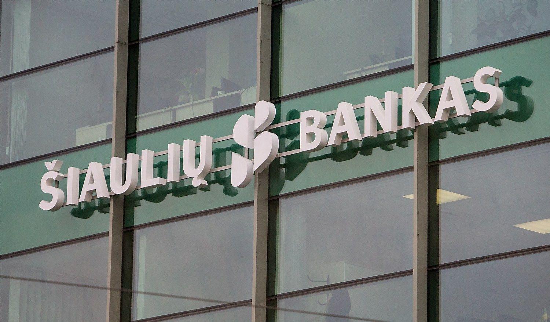 Šiaulių bankas pasiūlė paslaugų krepšelius