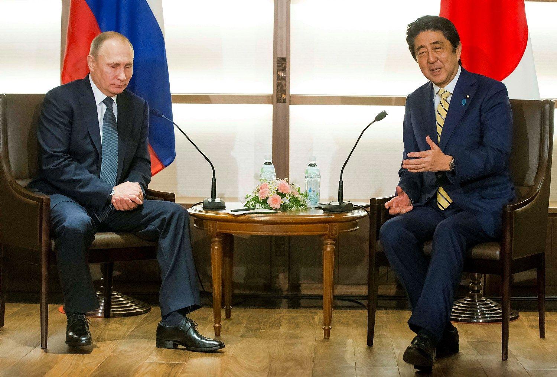 Japonija ir Rusija proveržio kol kas nepasiekė