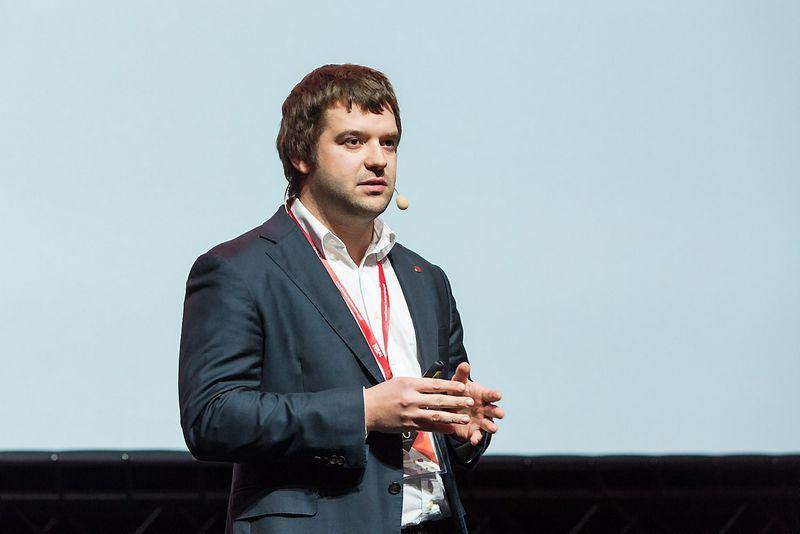 Povilas Poderskis, technologijų entuziastas ir Vilniaus miesto mero patarėjas. Laimos Penekaitės nuotr.