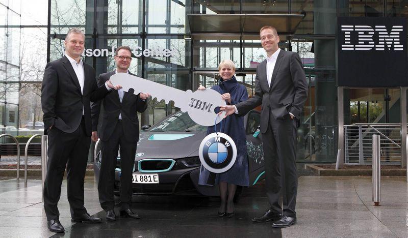 Ateities BMW modeliams dirbtinį intelektą kurs IBM. Gamintojo nuotr.