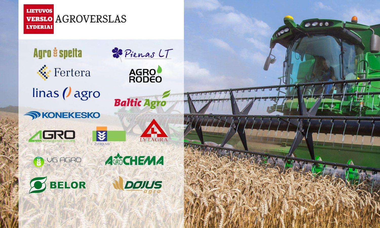 Agroverslo sektoriaus lyderiai: paaiškėjo3 geriausios bendrovės