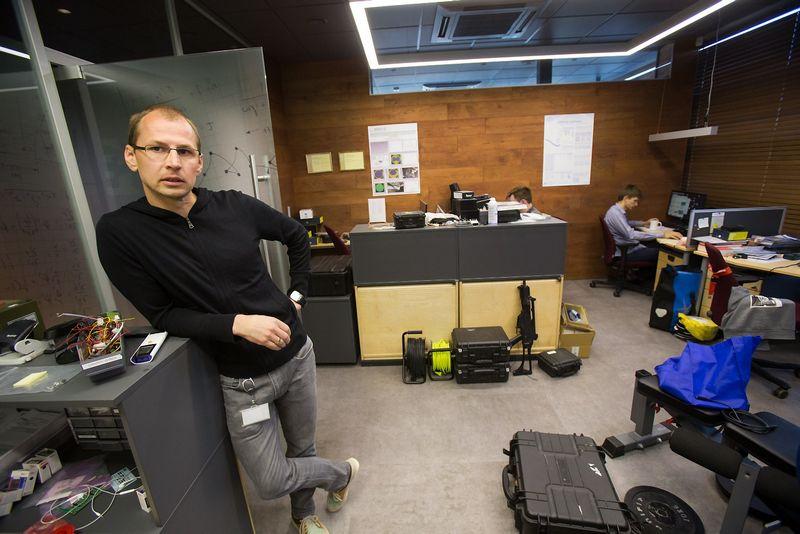 """Dominykas Vizbaras, lazerinių ir puslaidininkių technologijų UAB """"Brolis Semiconductors"""" generalinis direktorius. Vladimiro Ivanovo (VŽ) nuotr."""