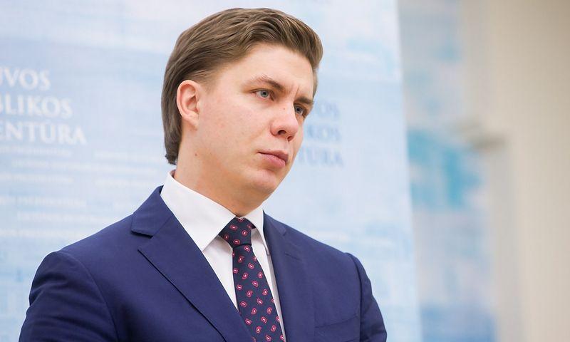 Mindaugas Sinkevičius, ūkio ministras. Juditos Grigelytės (VŽ) nuotr.