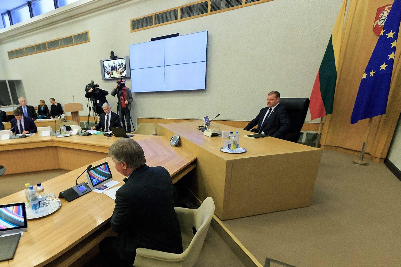 Vyriausybė atiduoda Seimui galutinį biudžeto variantą