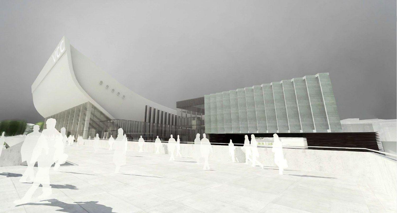 Sporto rūmų rekonstrukcija: VPT įpareigojo derėtis iš naujo