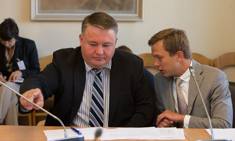 """Robertas Pažemeckas, AB """"Žemaitijos pienas"""" generalinis direktorius. Juditos Grigelytės (VŽ) nuotr."""