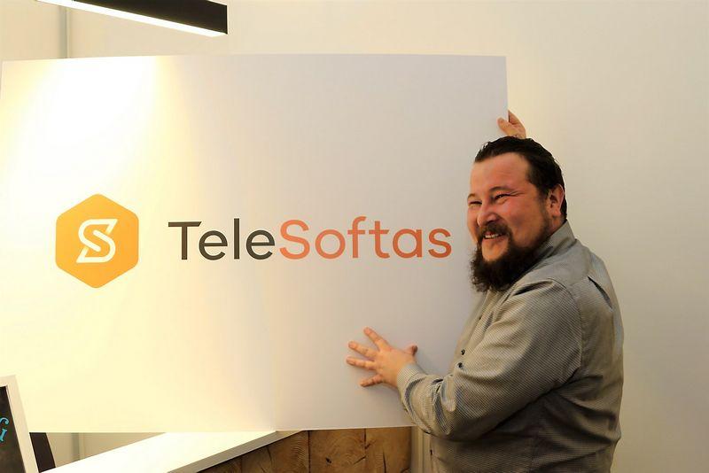 """Algirdas Stonys, programėlių kūrimo paslaugų UAB """"Telesoftas"""" direktorius. Dariaus Versecko (VŽ) nuotr."""