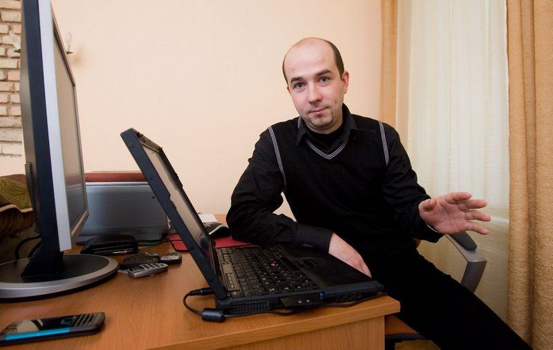 Tomas Pilipavičius, Investuotojų asociacijos direktorius ir valdybos narys. Juditos Grigelytės (VŽ) nuotr.