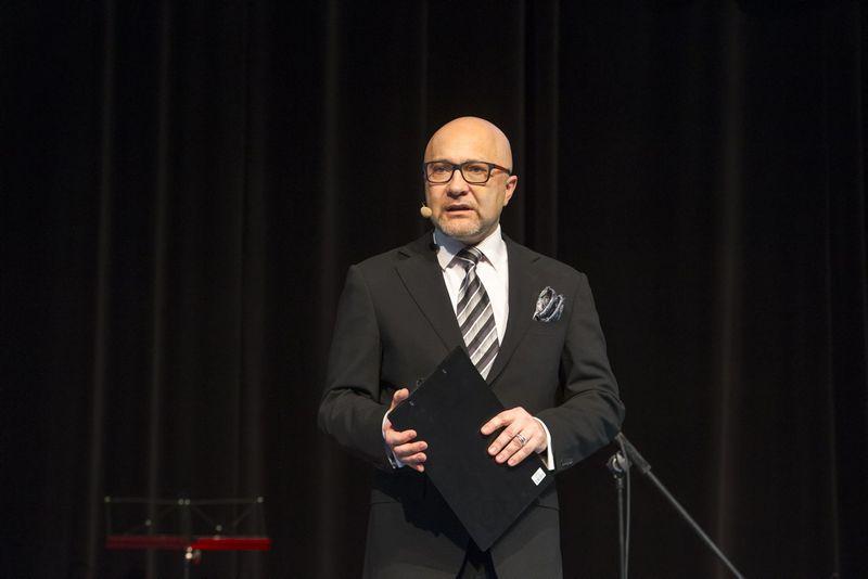 """Audrius Giržadas, LRT televizijos laidos """"Auksinis balsas"""" vyriausiasis prodiuseris. Vladimiro Ivanovo (VŽ) nuotr."""