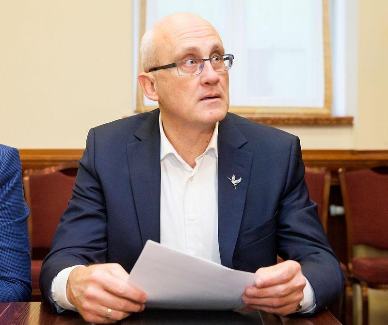 Po Seimo rinkimų Valstiečių ir žaliųjų sąjunga susitinka su konservatoriais konsultacijoms. Juditos Grigelytės (VŽ) nuotr.