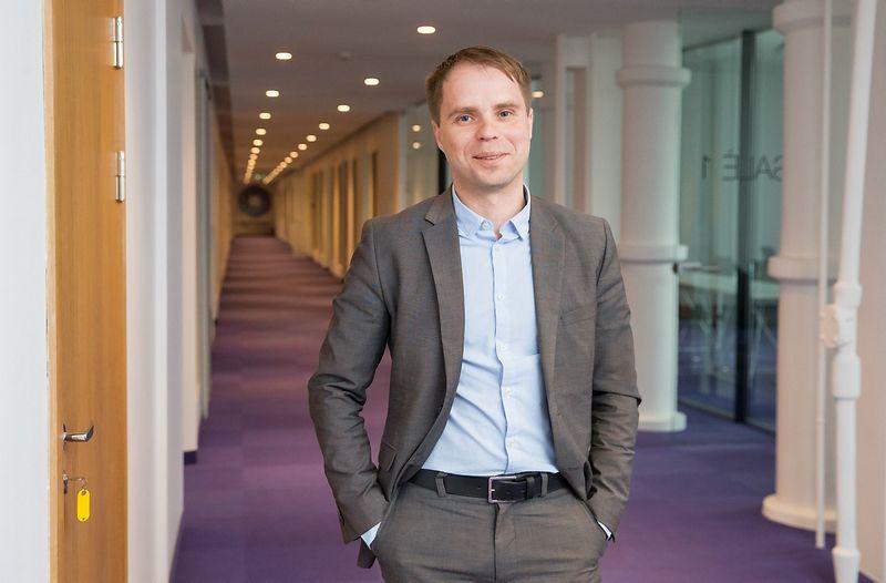 Kęstutis Šetkus, Mokslo, inovacijų ir technologijų agentūros (MITA) direktorius. Juditos Grigelytės (VŽ) nuotr.