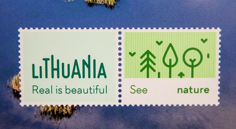 """Naujasis Lietuvos kultūros ir gamtos paveldą reprezentuojantis turizmo prekės ženklas ir šūkis """"Lithuania. Real is beautiful"""" buvo pristatytas šiemet spalį.  Juditos Grigelytės (VŽ) nuotr."""