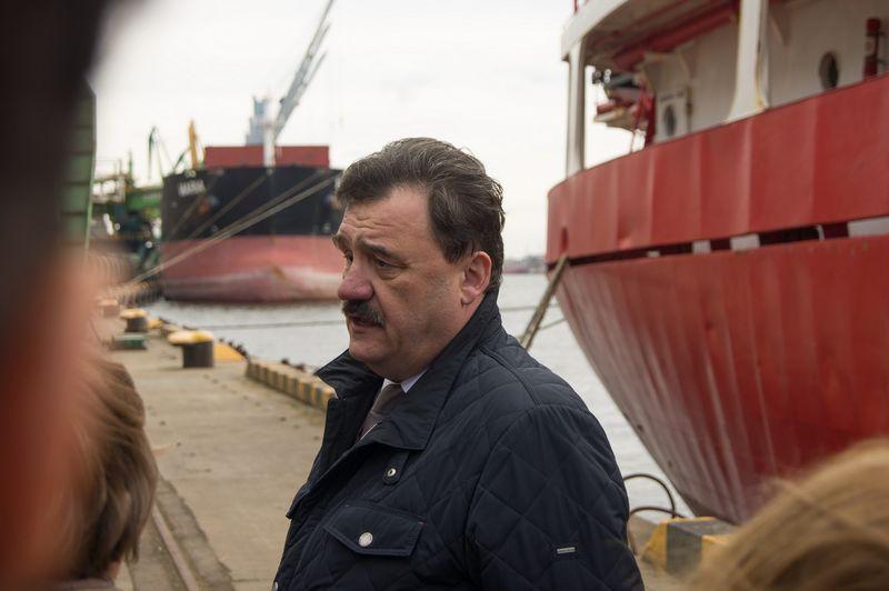 """Audrius Pauža, KLASCO generalinis direktorius: """"Mes nestatome terminalų, jei neturime pagrindo, kad jie atsipirks."""" Algimanto Kalvaičio (VŽ) nuotr."""