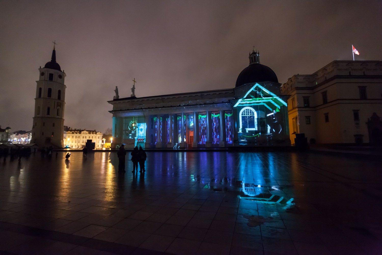 Vilniuje – tradicinė 3D pasaka