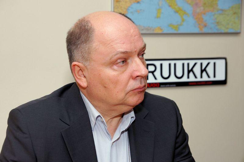 """Artūras Barysas, UAB """"Ruukki Lietuva"""" projektinių pardavimų ir gamybos direktorius, pabrėžia, kad šiemet Lietuvoje bendrovė dirbo sėkmingiau, nes rinkoje vis dažniau buvo pabrėžiama ne tik kaina, bet ir pastatų efektyvumo ir ilgaamžiškumo vertė. Algimanto Kalvaičio nuotr."""