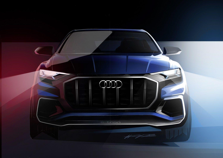"""""""Audi"""" kuria dar vieną prabangų visureigį – Q8"""
