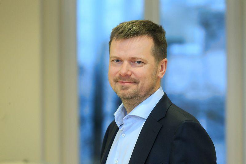 """Kęstutis Gečas, ryšių su visuomene agentūros """"INK agency"""" vyriausias partneris ir Ryšių su visuomene agentūrų asociacijos (RSVA) tarybos pirmininkas. Vladimiro Ivanovo (VŽ) nuotr."""