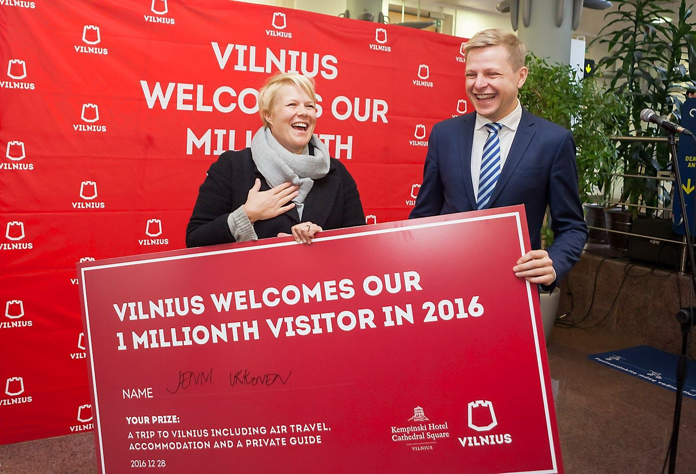 Vilnius sulaukė rekordinio skaičiaus svečių per Nepriklausomybės laikotarpį