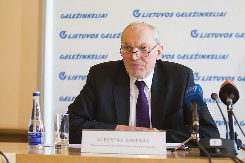 Albertas Šimėnas. Vladimiro Ivanovo (VŽ) nuotr.