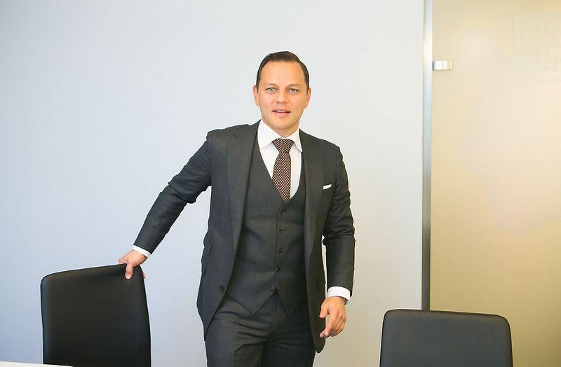 "Deividas Soloveičikas, advokatų kontoros ""Cobalt"" partneris. Juditos Grigelytės (VŽ) nuotr."