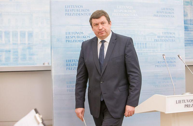 Krašto apsaugos ministras Raimundas Karoblis. Juditos Grigelytės (VŽ) nuotr.