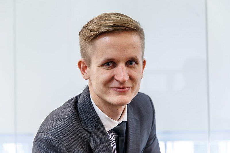 Paulius Martinkus, Susisiekimo viceministras. Vladimiro Ivanovo (VŽ) nuotr.