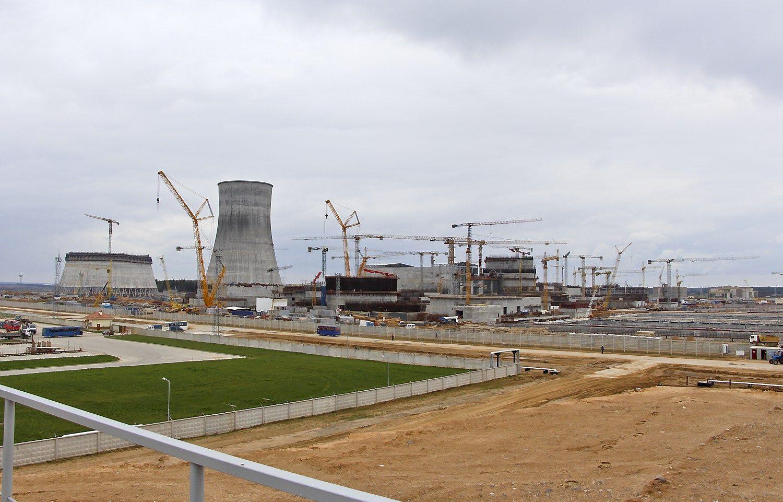 Dėl smūgį patyrusio reaktoriaus korpuso – nota baltarusiams