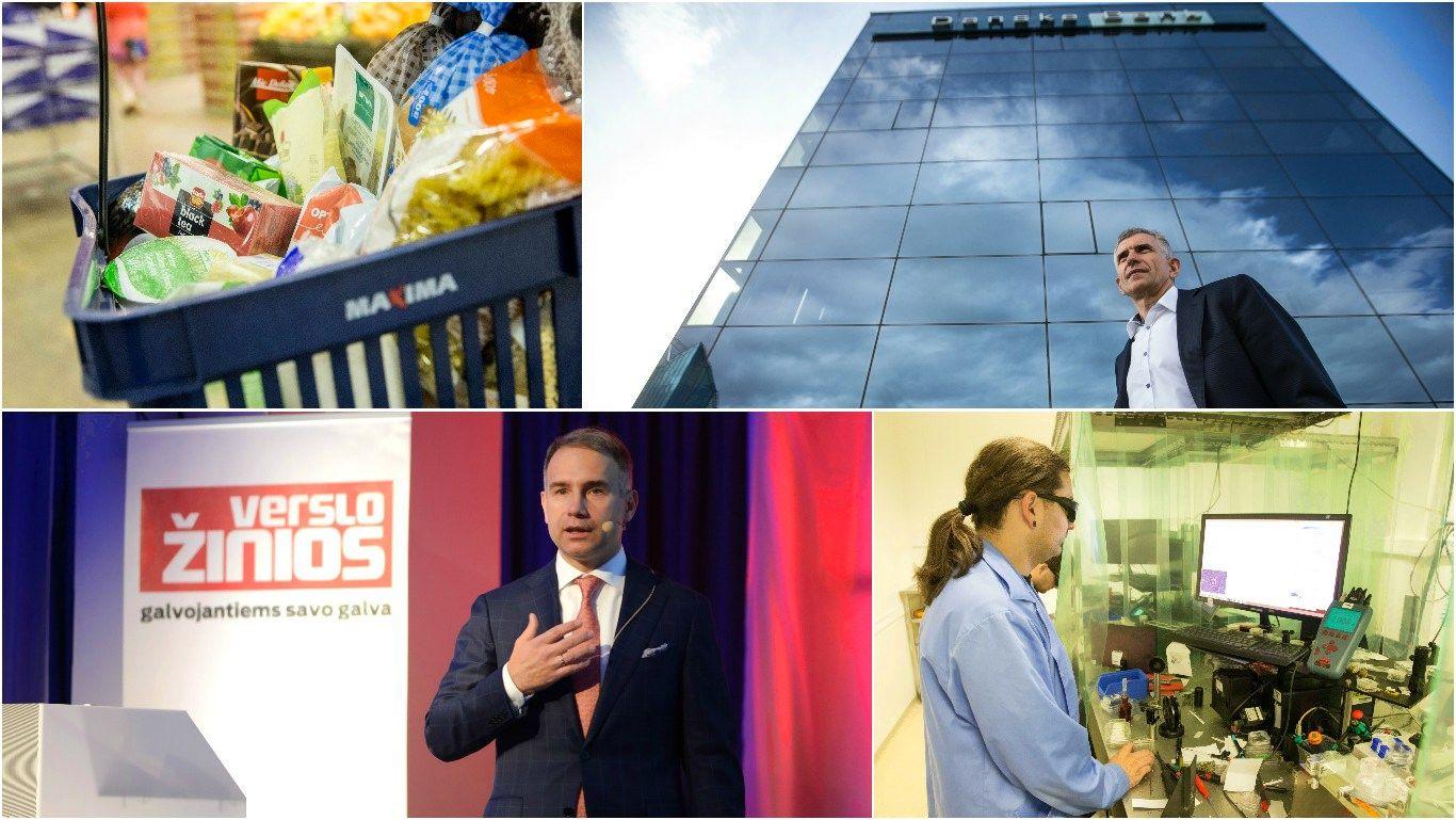 Lietuvos verslo sektorių lyderiai: išrinktos geriausios bendrovės