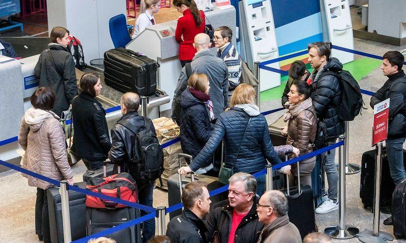 Lietuva praktiškai rinkti ir tvarkyti skrydžių keleivių duomenis pradės viena pirmųjų Europoje.