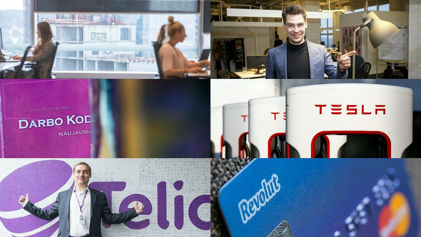 """VŽmetų populiariausi: kodėl paliekami darbdaviai, """"Tesla"""" Lietuvoje, """"Vinted"""" pamokos"""