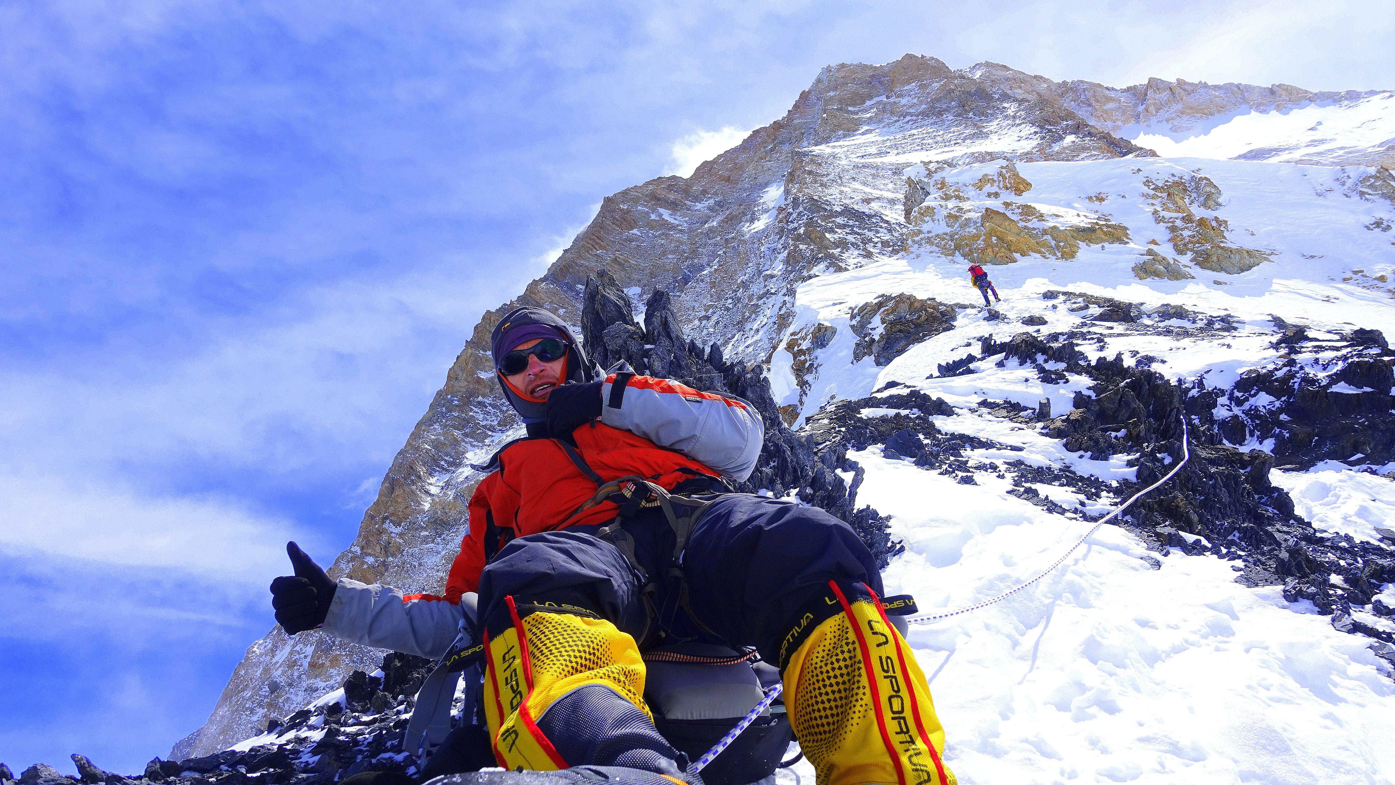 Verslininkas ir alpinizmo entuziastas: kalnų neužkariausi – jie prisileidžia arba ne