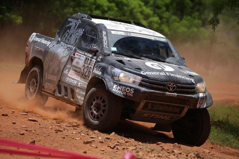 Pirmame Dakaro ralio greičio ruože išlietuviųgreičiausias Vanagas