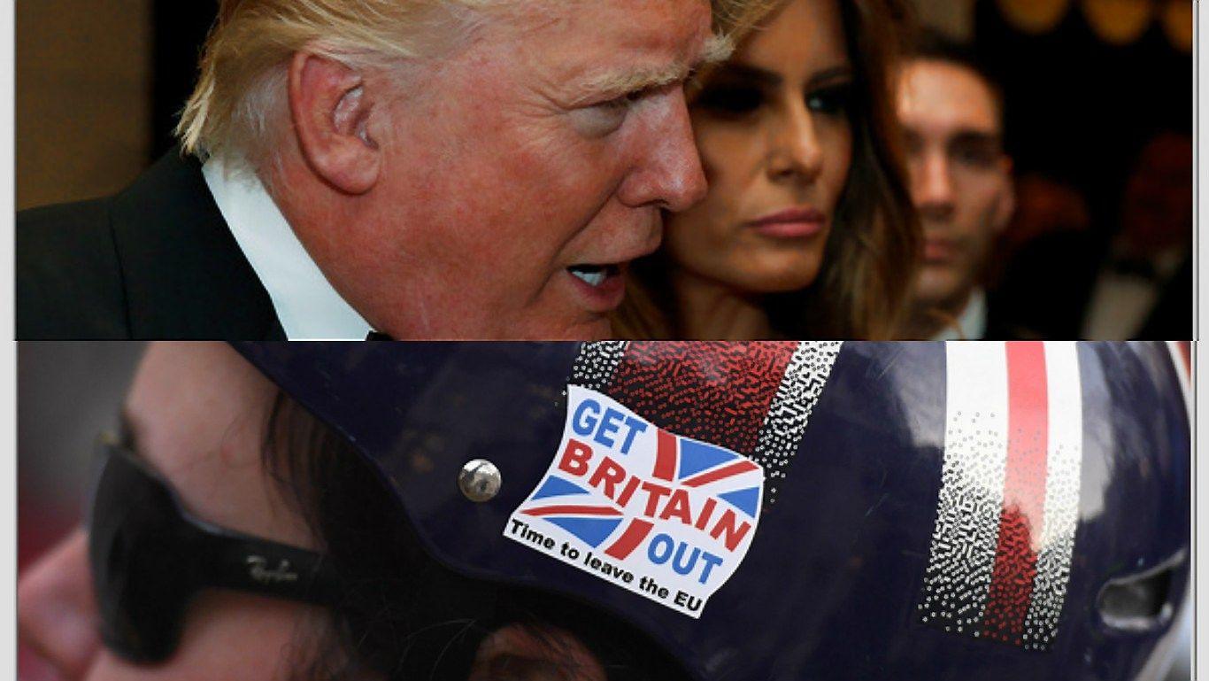 """Kuris stipresnis: Trumpo ar """"Brexit"""" efektas 2017 m. perspektyvoms"""