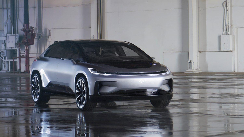 """""""Faraday Future"""" elektromobilis greitesnis nei """"Tesla Model S"""""""