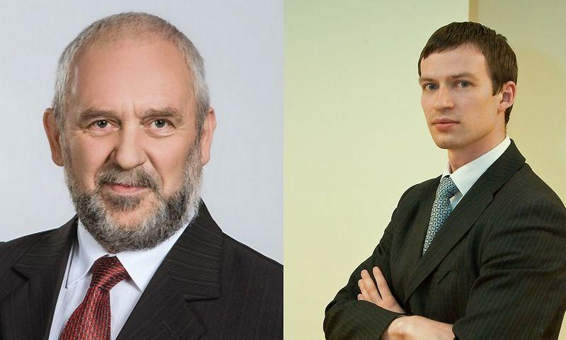 Vidmantas Macevičius (Energetikos ministerijos nuotr.) ir Egidijus Purlys (VŽ nuotr.).