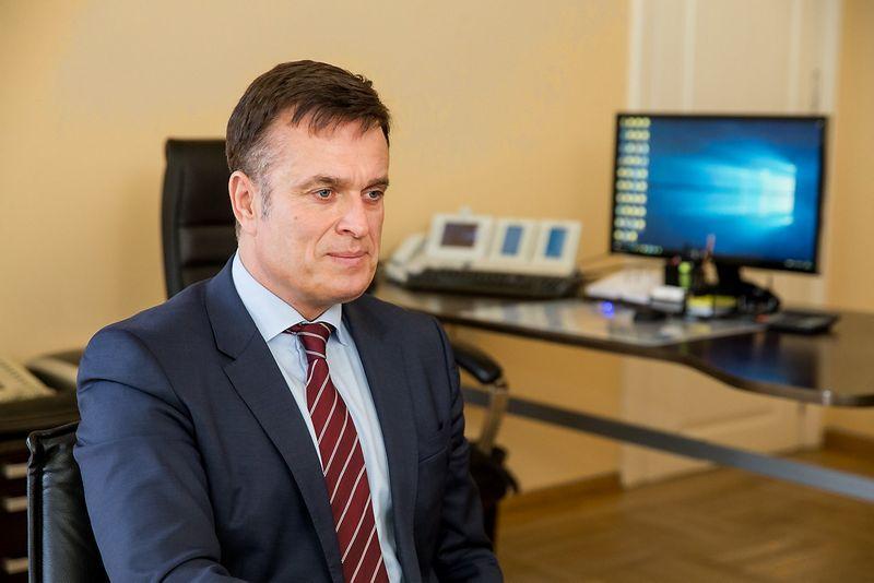 Dainoras Bradauskas, VMI vadovas. Juditos Grigelytės (VŽ) nuotr.