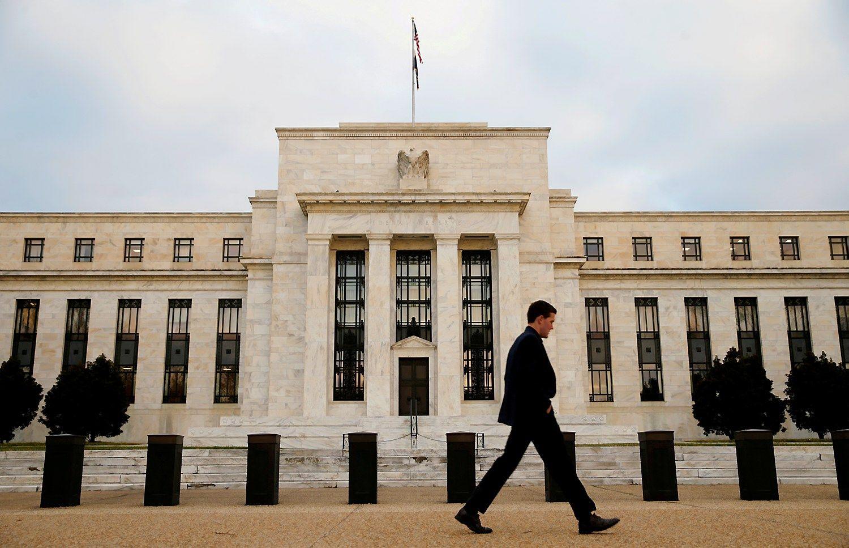 JAV centrinis bankas atidžiai stebi būsimo prezidento veiksmus