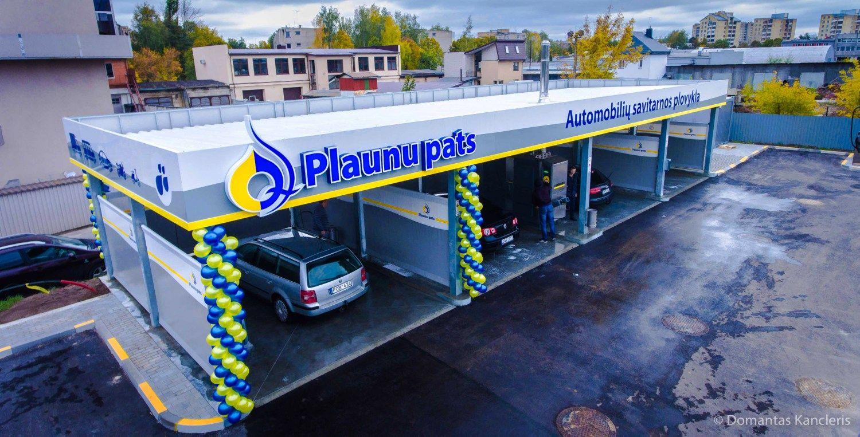 """""""Plaunu pats"""" investavo: atidarė bekontaktes plovyklas"""