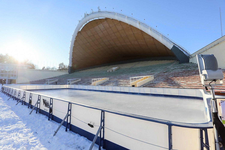 Vilniečiams –čiuožykla Vingio parke