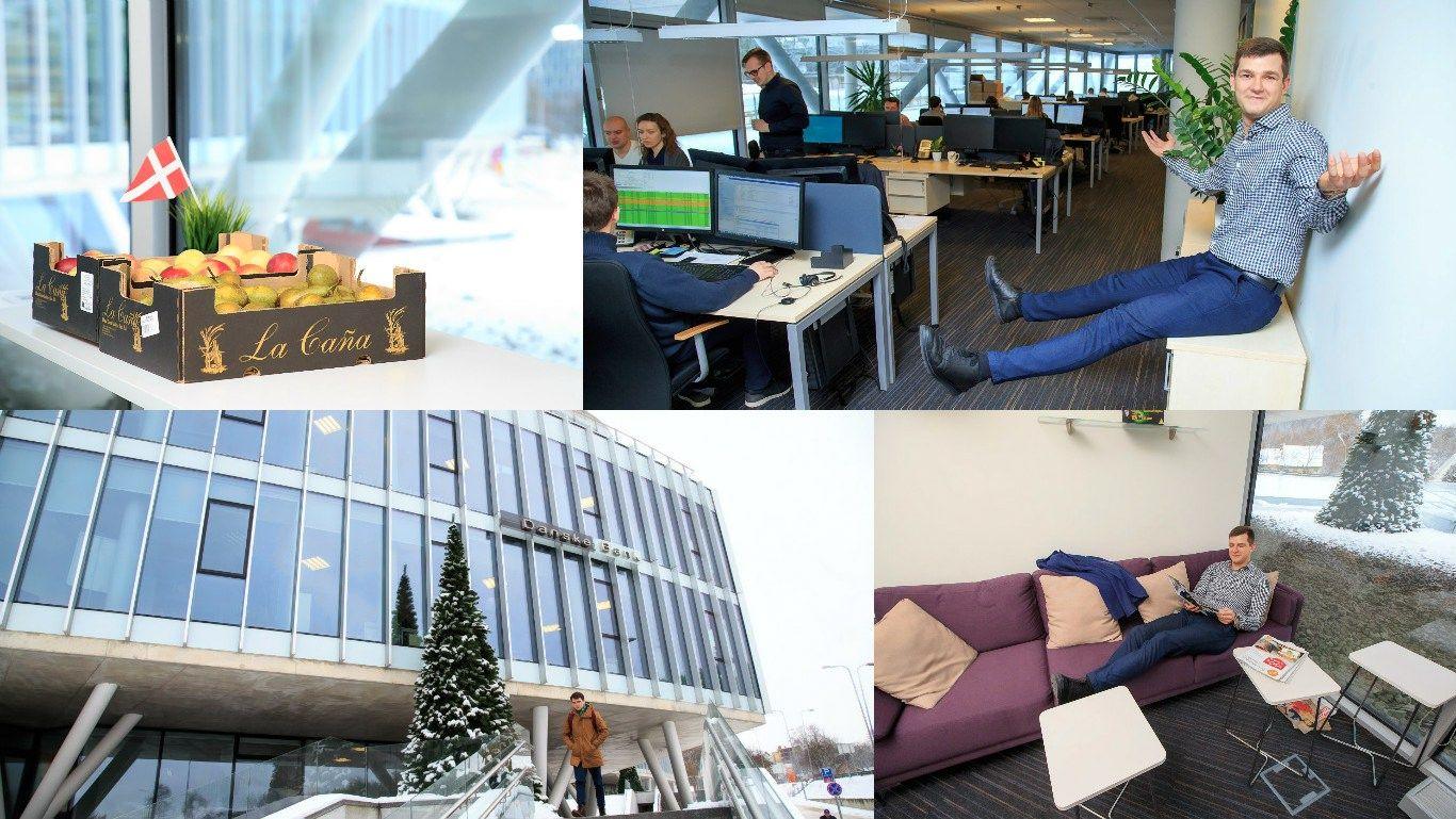 """Pirmosios darbo dienos """"Danske Bank"""": iš vieno geidžiamiausio – pas kitą"""