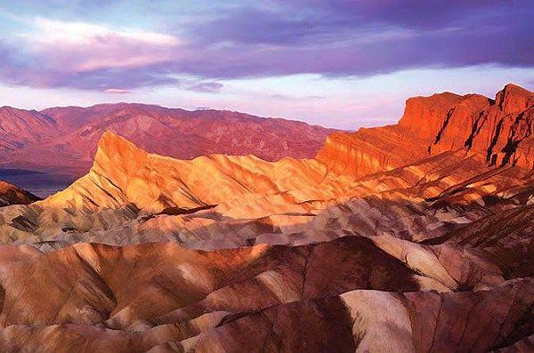 Mirties slėnis – karščiausia vieta žemėje.  Death Valley National Park nuotr.