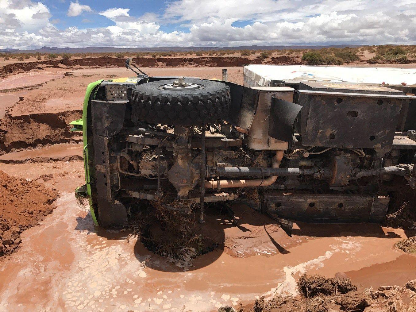 Šeštasis etapas Dakaro ralyje atšauktas dėl liūčių